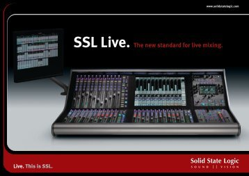 Live. This is SSL.