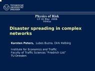 Disaster spreading in complex networks - MOKSLAS plius