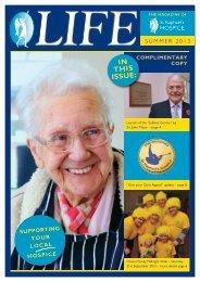 Summer 2013 Magazine PDF - St Raphael's Hospice