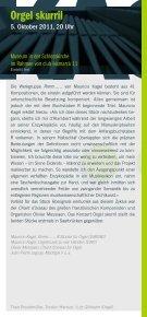 kagel-programmheft Din lang hoch-.indd - Saarländischer Rundfunk - Page 6