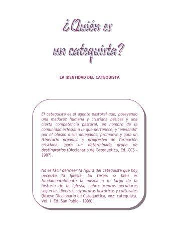 La identidad del catequista - Cenacat.org