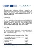 Training course report - FREE - From Research to Enterprise - Page 5