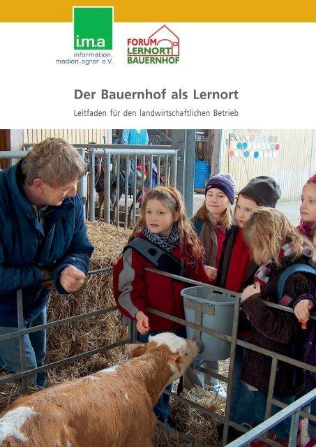 Bauernhof als Lernort - information.medien.agrar eV