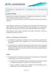 Certificate of Lawfulness for a Proposed Use or Development Form ...