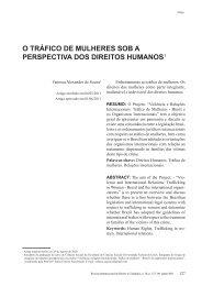 o tráfico de mulheres sob a perspectiva dos direitos ... - Reid.org.br