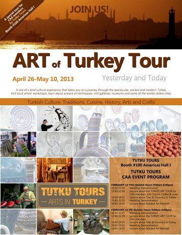 JOIN US! - TUTKU TOURS TURKEY