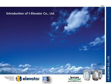 IE L E V A T O R CO ., L T D. - I-Elevator Nigeria