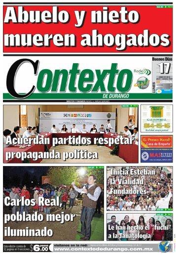 17/06/2013 - Contexto de Durango