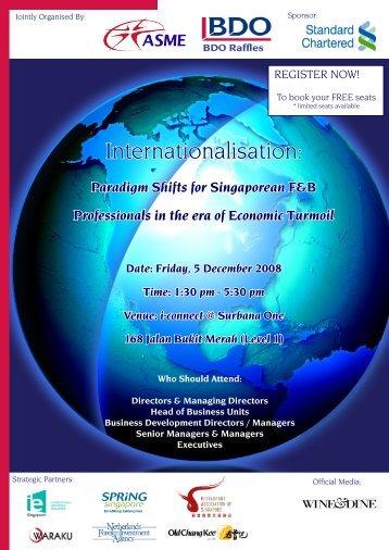 Internationalisation: - BDO Raffles