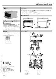 TNT 32 - Leuze electronic