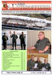 Zeitung 02/2013 - UOG - Salzburg