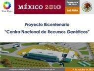 Centro Nacional de Recursos Genéticos - Sagarpa