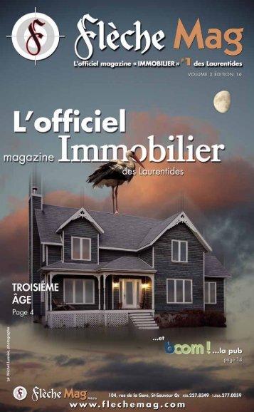 104, rue de la Gare, St-Sauveur Qc 450.227.8349 ... - Flèche Mag