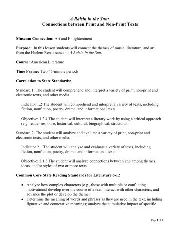 Howard County Lesson Plan Format - Maryland State Department of ...