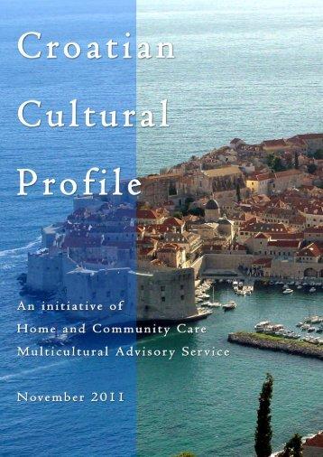 Croatian Cultural Profile - Diversicare