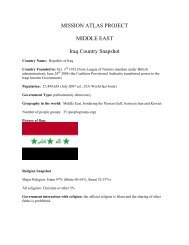Iraq Profile.pdf - World Map