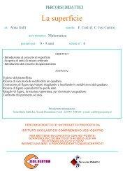 Superfici equivalenti e unità di misura arbitraruie - Istituto Scolastico ...
