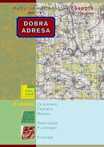 6 • 2011 - Dobrá adresa