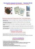 Stand-alone system for 1 dør Med berøringsfri læser og/eller ... - DKC - Page 2