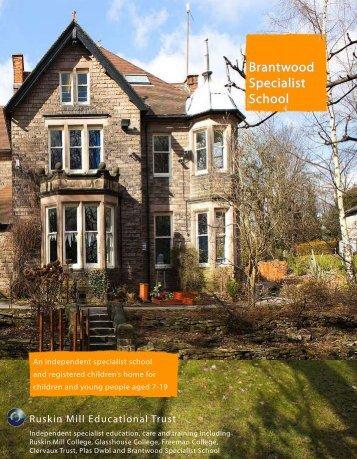 Brantwood Specialist School - Ruskin Mill Trust
