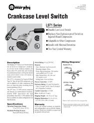 Crankcase Level Switch
