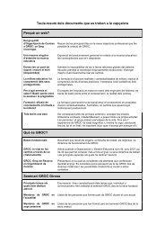 Taula-resum dels documents que es troben a la capçalera - Groc
