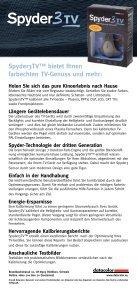 Heimkino-Farbkalibrierung - Datacolor - Seite 2