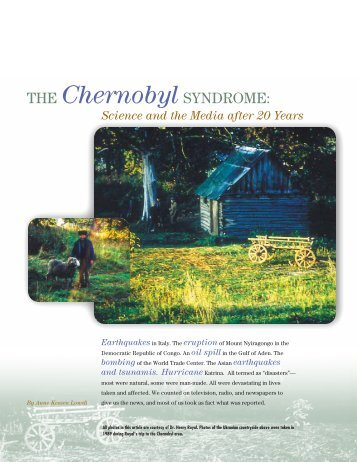 The Chernobyl Syndrome - Mallinckrodt Institute of Radiology