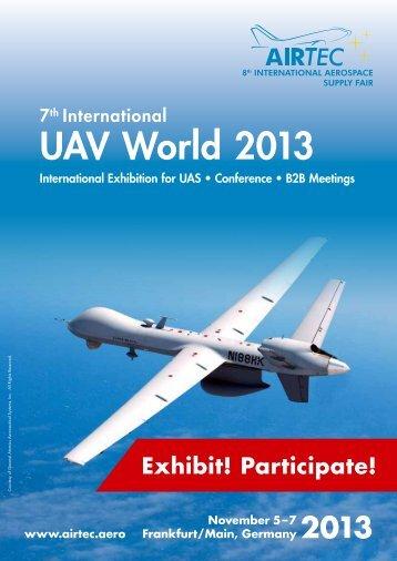 UAV World 2013 - Airtec