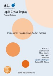 Dot Matrix Liquid Crystal Display Modules - Rockby