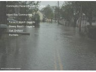 Community Hazard/Flooding Photos Inland Bay Communities ...