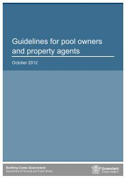 Guideline for pool owners and property agents - Department of ...