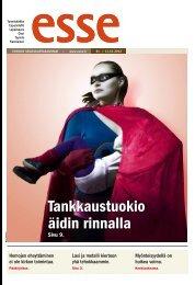 Esse 41/2012 (pdf) - Espoon seurakuntasanomat