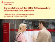 Informationen für Kommunen - kassenverwalter.de