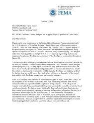 City of Newport Beach OPC Study Case Initiation ... - FEMA Region 9