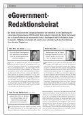 vorsprung mit eGovern - eGovernment Computing - Page 6
