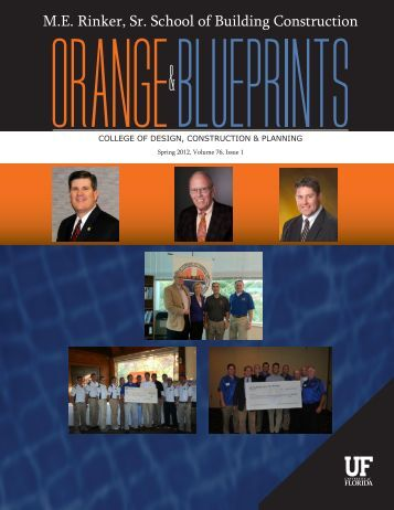 Spring 2012 Newsletter - M E Rinker Sr School of Building ...