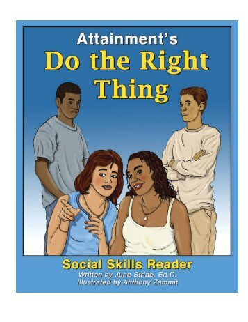 Do the Right Thing Book Sample - Attainment Company