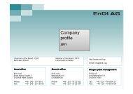 Biogas - EnD-I AG