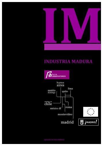Estudio específico 9- Industria Madura