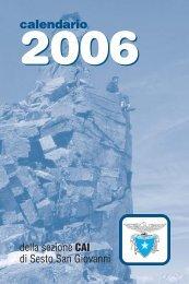 Agendina 2006 2colori - CAI - sezione di Sesto San Giovanni
