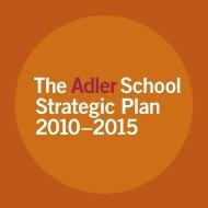 Strategic Plan - Adler School of Professional Psychology
