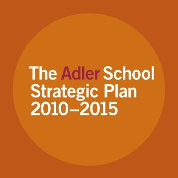Strategic Plan - Adler School of Professional Psychology
