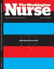 Summer 2011 - The Washington State Nurses Association