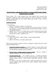 Účetní závěrka v JÚ a zpracování DP k dani z příjmů ... - eAMOS