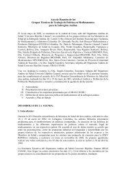 Acta de Reunión de los Grupos Técnicos de Trabajo de Política en ...