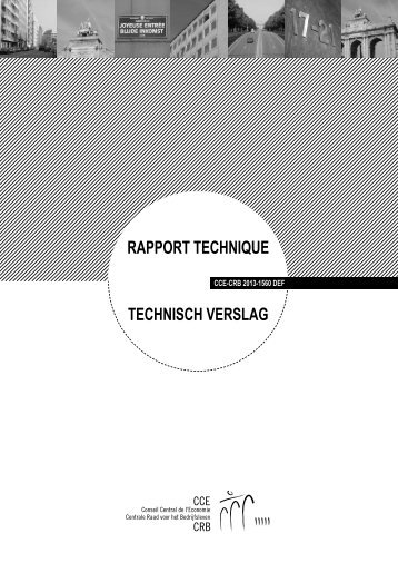 rapport teChnique