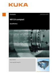 KR C4 compact - KUKA Robotics