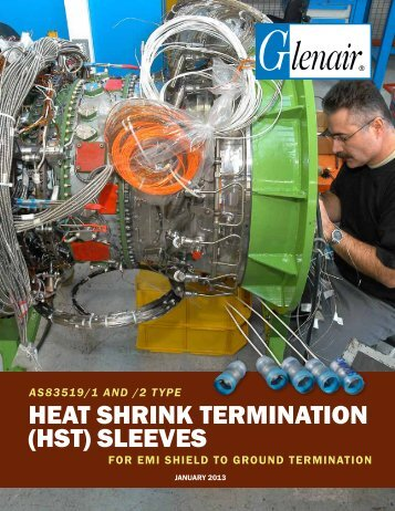 AS83519/1 and /2 Type Heat Shrink Termination ... - Glenair, Inc.