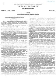 Legea 263/2010 privind sistemul unitar de pensii - CSN Meridian